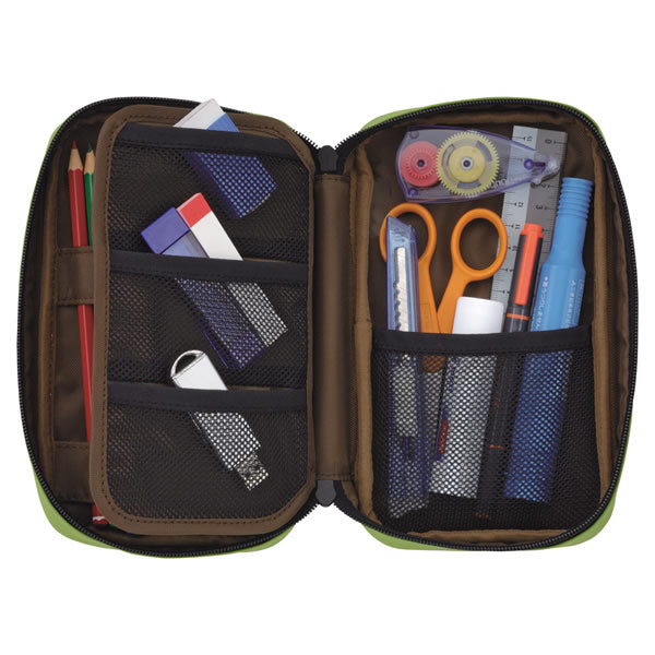 Lihit Lab Teffa Pen Case - Book Style - Black