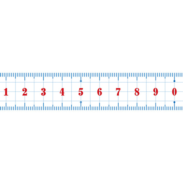 MTEX1P96 Ruler 20mm x 10m MT Washi Masking Tape