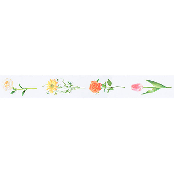 MT Masking Tape Ex Series - Flower R - 30 mm x 10 m