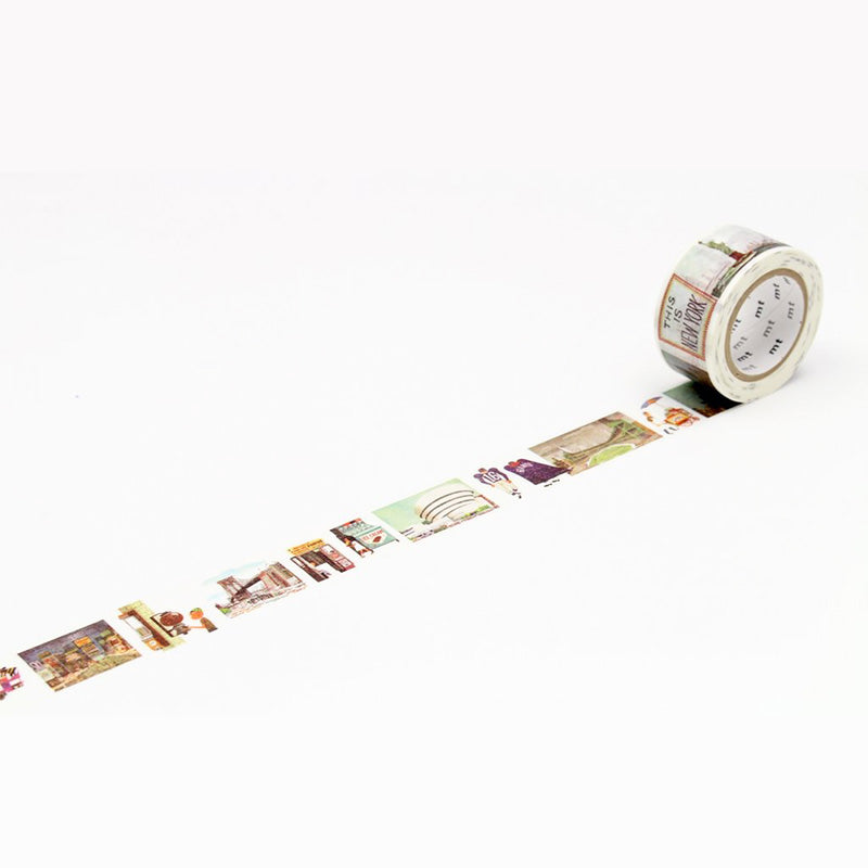 MT x Miroslav Sasek Washi Tape - This is New York - 23 mm x 10 m