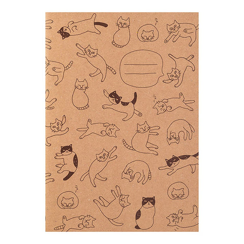 Midori Craft Notebook - Cats - Grid - A5