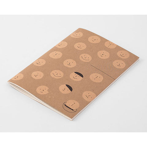 Midori Craft Notebook - Smiley Cookies - Grid - A5
