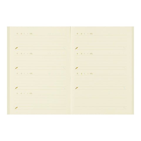Midori Mini Days Notebook Diary - Happiness Bird