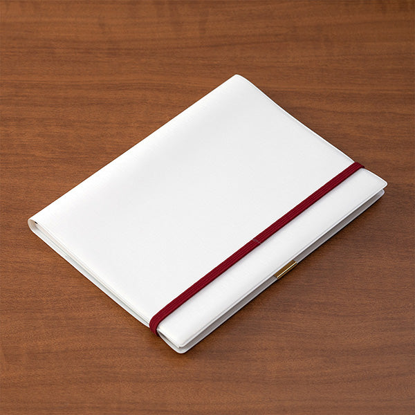 Midori Clip Band for Notebooks - A5 - Bordeaux