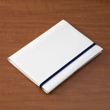 Midori Clip Band for Notebooks - A5 - Navy - Notebook Accessories - bunbougu.com.au