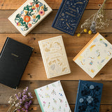 Midori MD 1 Year Diary - My Stories and Memories - Blue - Notebooks - bunbougu.com.au