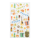 Midori March Stickers - Festival - Decoration Stickers - bunbougu.com.au