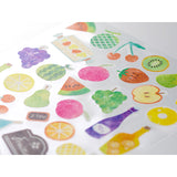 Midori March Stickers - Fruit - Decoration Stickers - bunbougu.com.au