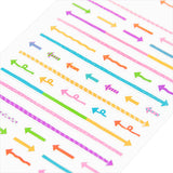 Midori Seal Collection Planner Stickers - Arrow - Decoration Stickers - bunbougu.com.au