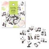 Mind Wave Holiday Design Sticker Flake Pack - Panda - Decoration Stickers - bunbougu.com.au