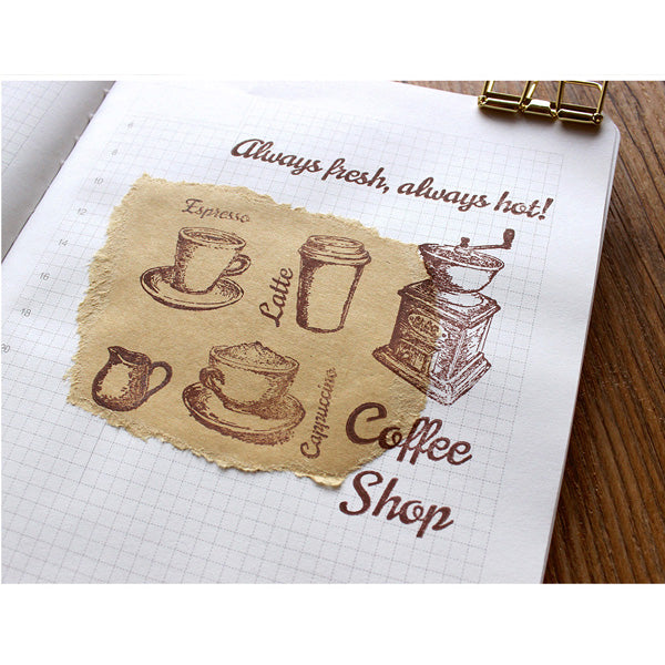 Moodtape Zakka Transparent Stamp - Joy