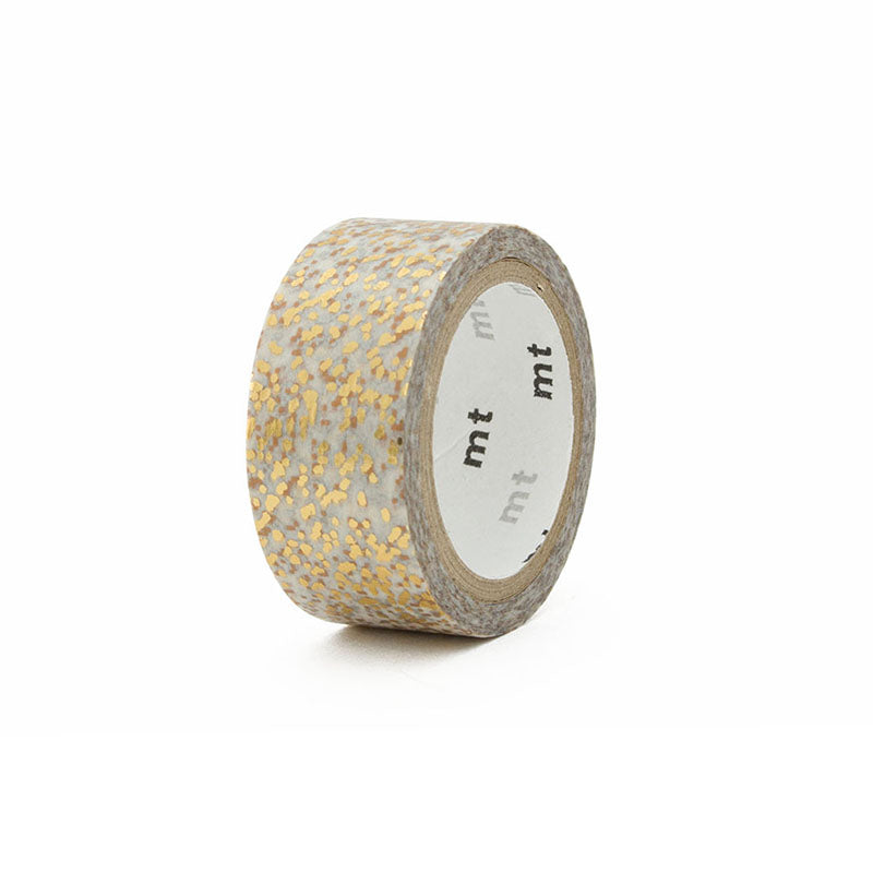 Mt Fab Masking Tape - Foil Stamp - Particle - 15 mm x 5 m