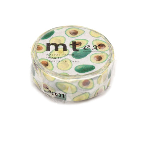 Mt Masking Tape - 2019 Spring & Summer Collection - Avocado - 15 mm x 7 m