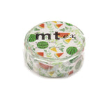 Mt Masking Tape - 2019 Spring & Summer Collection - Watermelon - 15 mm x 7 m - Washi Tapes - bunbougu.com.au