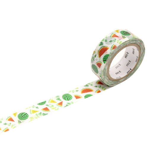Mt Masking Tape - 2019 Spring & Summer Collection - Watermelon - 15 mm x 7 m