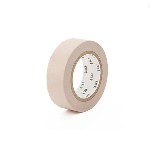 Mt Masking Tape - Pastel Brown - 15 mm x 10 m - Washi Tape - bunbougu.com.au