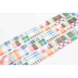 Mt Masking Tape - Patchwork - 20 mm x 10 m - Washi Tapes - bunbougu.com.au