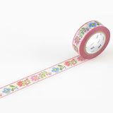 Mt Masking Tape Ex Series - Embroidery - 15 mm x 10 m - Washi Tapes - bunbougu.com.au