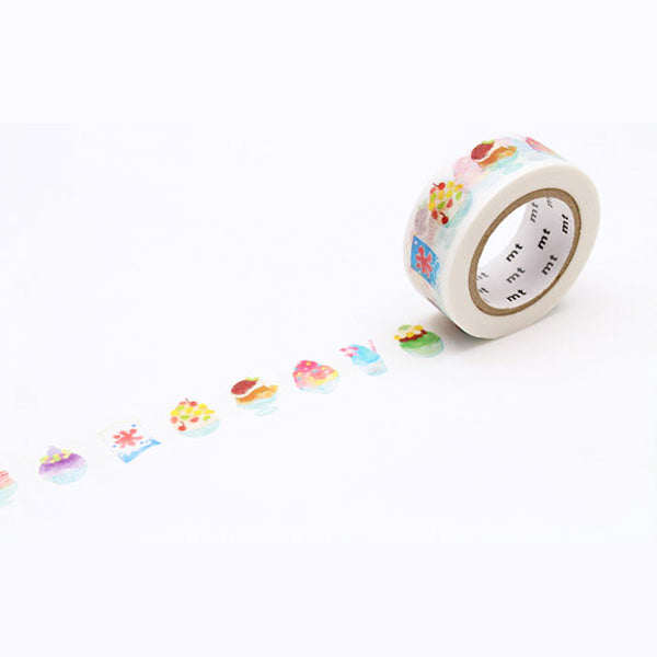Mt Masking Tape Ex Series - Shaved Ice - 18 mm x 10 m