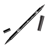 Tombow Dual Brush Pen - Black/Gray Color Range