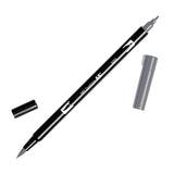 Tombow Dual Brush Pen - Black/Gray Color Range - Brush Pens - bunbougu.com.au