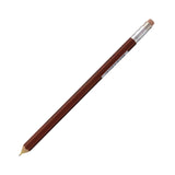 Ohto Wooden Mechanical Pencil - Brown - 0.5 mm - Mechanical Pencil - bunbougu.com.au
