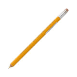 Ohto Wooden Mechanical Pencil - Mustard Yellow - 0.5 mm - Mechanical Pencils - bunbougu.com.au