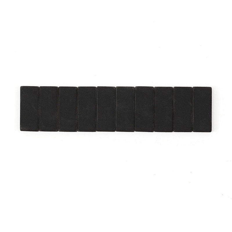 Palomino Blackwing - Pencil Replacement Erasers - Pack of 10 - Black