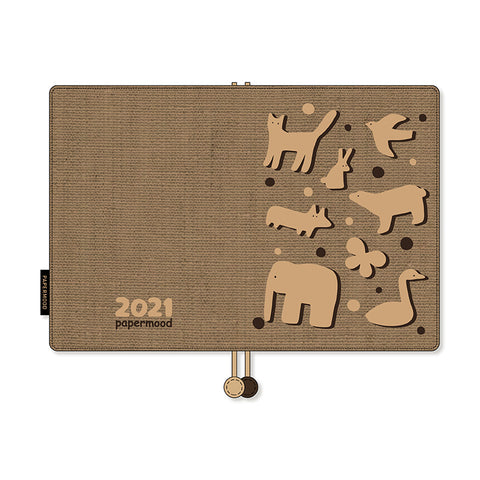 Papermood Planner Cover - Animal Sandwich Biscuit - B6