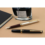 Pilot Elite E95S Fountain Pen - Deep Red - Fine - Fountain Pens - bunbougu.com.au