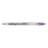 Pilot FriXion Ball Slim Gel Pen - Clear Body Version - 0.38 mm