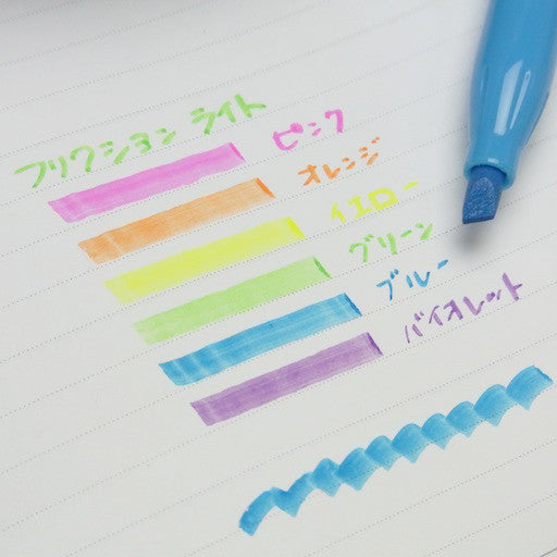 Pilot FriXion Soft Colour Erasable Highlighter - 6 Colors Set