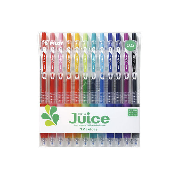 Pilot Juice Gel Pen - 12 Color Set - 0.5 mm - Gel Pen - bunbougu.com.au