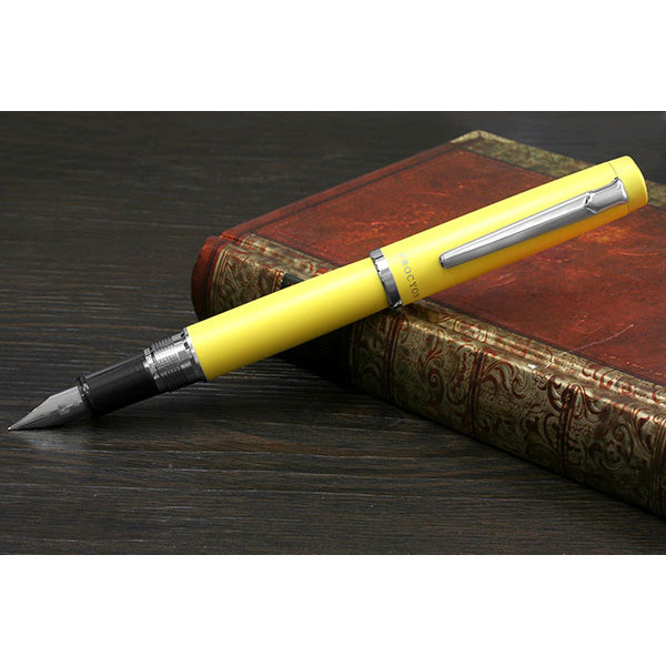 Platinum Procyon Fountain Pen - Citron Yellow