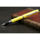 Platinum Procyon Fountain Pen - Citron Yellow - Fountain Pens - bunbougu.com.au