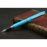 Platinum Procyon Fountain Pen - Turquoise Blue - Fountain Pens - bunbougu.com.au