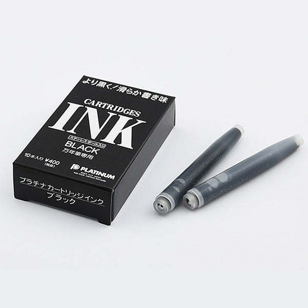 Platinum Ink Cartridges - 10 Cartridges - For Platinum Fountain Pen