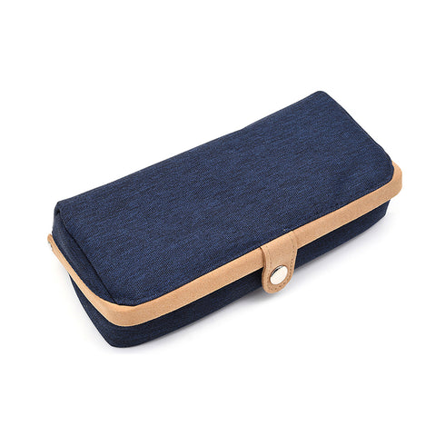 Raymay Clam Pencil Case - Navy