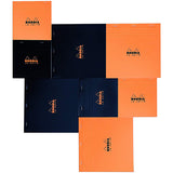 Rhodia #18 Top Stapled Pad - Plain - A4 - Notebooks - bunbougu.com.au