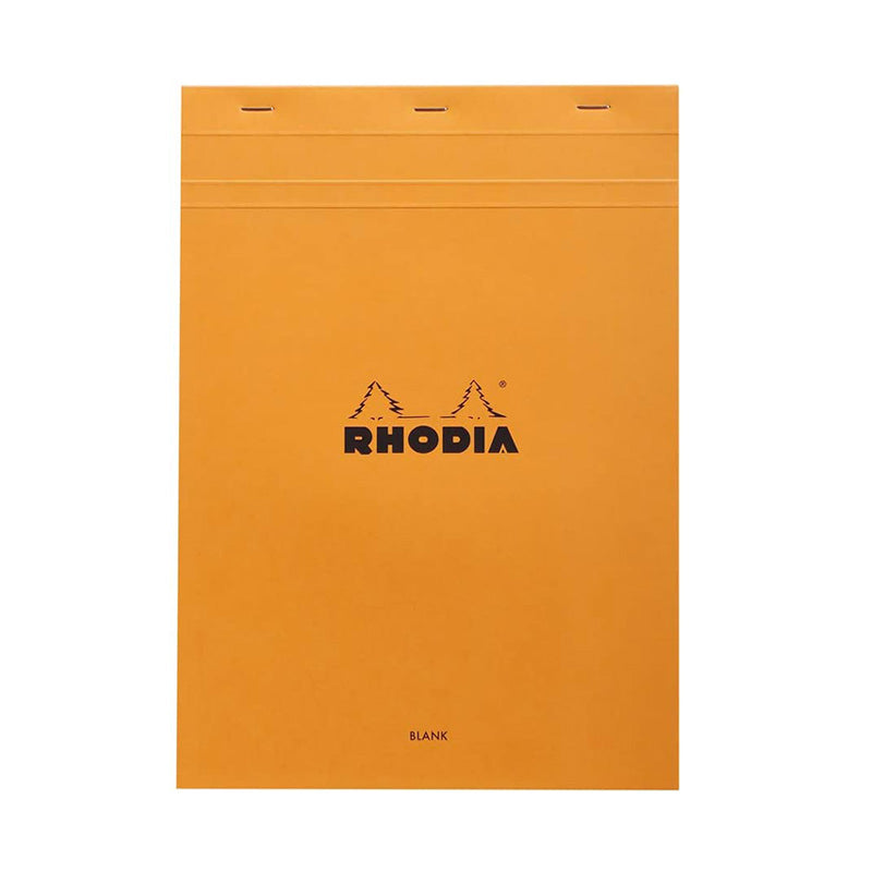 Rhodia #18 Top Stapled Pad - Plain - A4