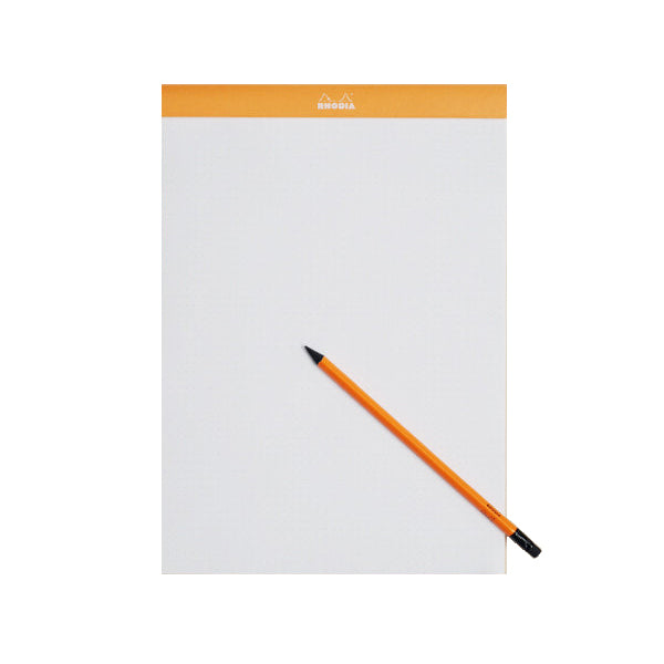 Rhodia #18 Top Stapled Pad - Grid - A4