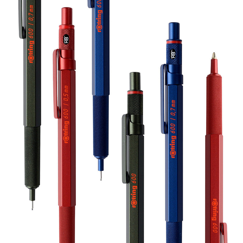 Rotring 600 Mechanical Pencil - Iron Blue - 0.7 mm