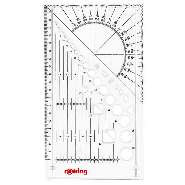 Rotring Isograph Technical Drawing Pen Master Set - 0.2 mm/0.4 mm/ 0.6 mm