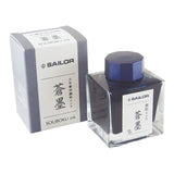 Sailor Nano Ink - Souboku (Dark Blue Black) - 50ml - Bottled Inks - bunbougu.com.au