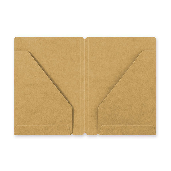 Traveler's Company Traveler's Notebook Accessories 010 - Kraft File Folder - Passport Size