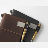 TRAVELER'S COMPANY TRAVELER'S Notebook Accessories 016 - Pen Holder - Medium - Blue - Notebook Accessories - bunbougu.com.au