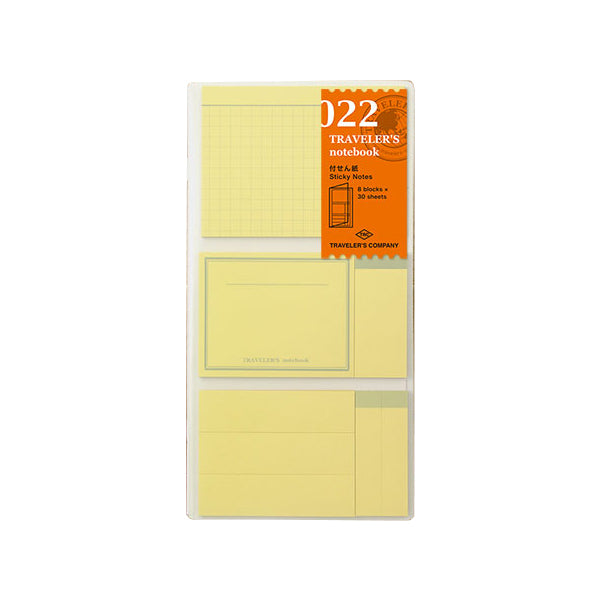 Traveler's Company Traveler's Notebook Accessories 022 - Sticky Notes - Regular Size