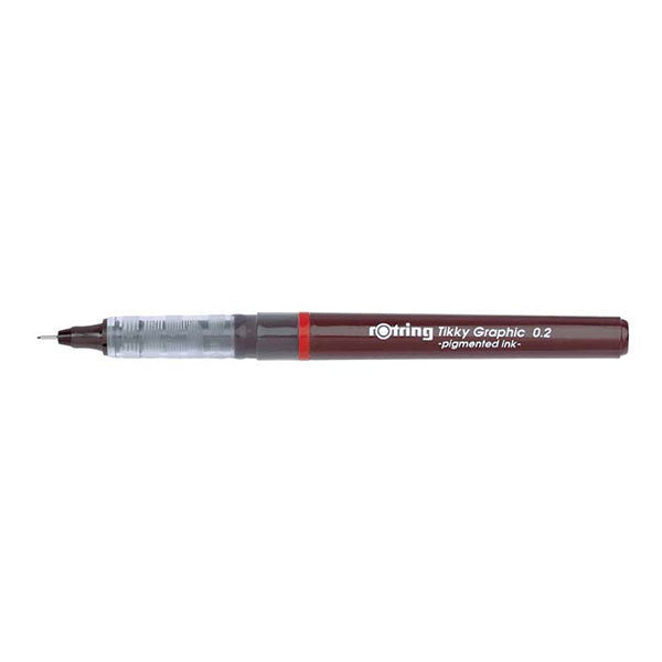 Rotring Tikky Graphic Drawing Pen - Pigment Ink (0.1 mm - 0.8 mm)