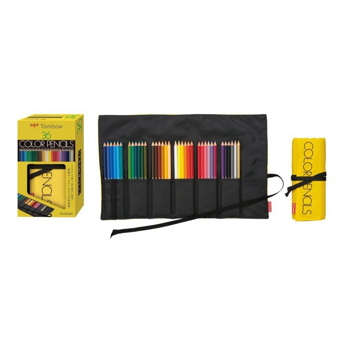 Tombow Color Pencil Set - 36 Color Set with Tombow Pencil Pouch