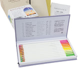 Tombow Irojiten Color Dictionary Colored Pencil Set - Third Edition - Seascape - 30 Colors - Coloured Pencils - bunbougu.com.au
